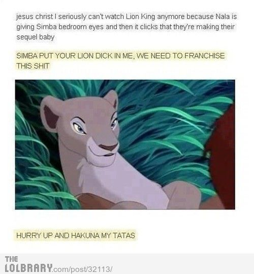 …and childhood ruined.