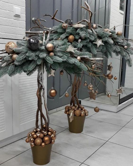 Такие разные елки: 50 оригинальных идей к Новому году