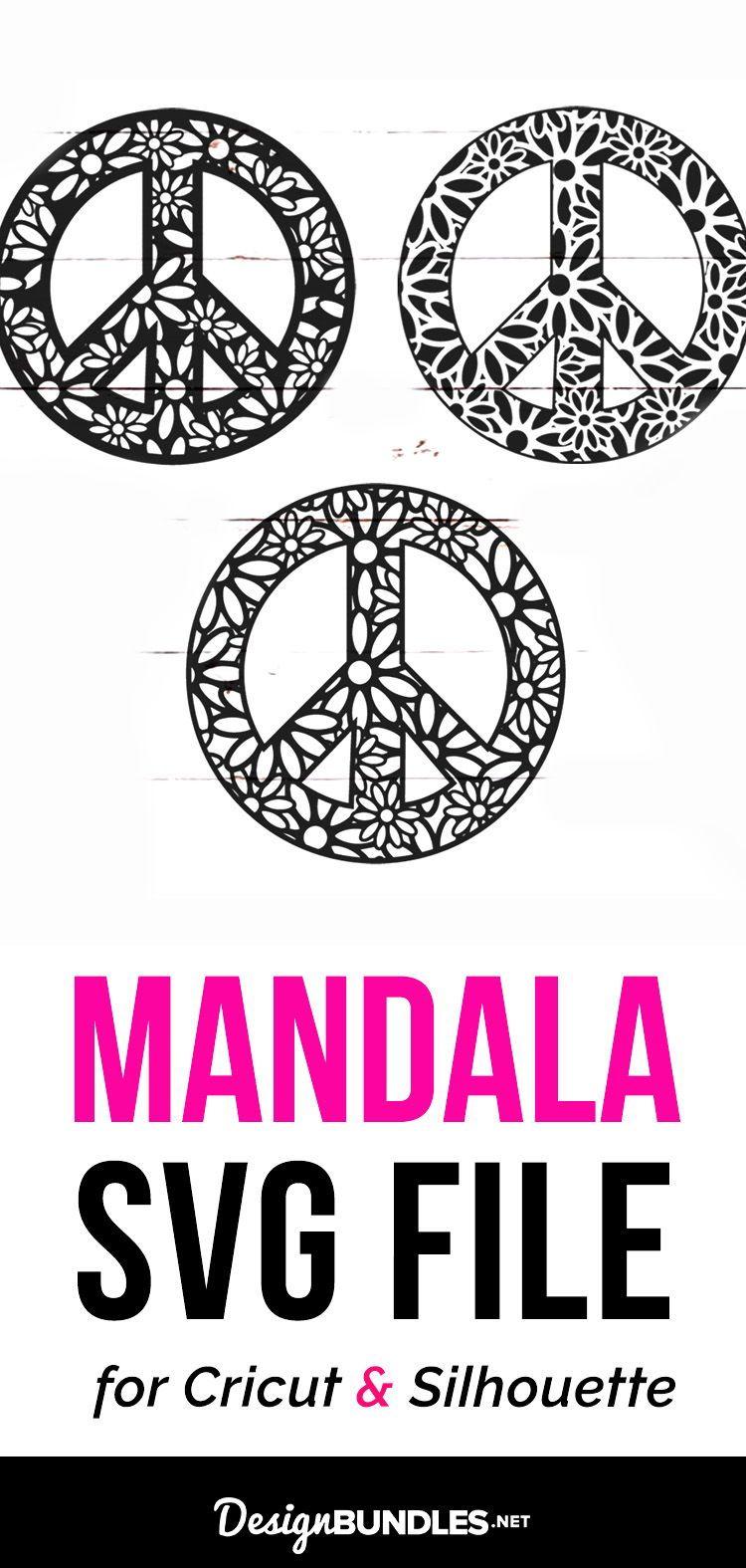 Download Peace Sign Mandala Svg Bundle 225272 Svgs Design Bundles Svg Peace Sign Mandala Svg
