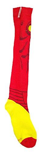 3680d782fb9 Marvel Comics Avengers Iron Man Licensed Knee High Socks…