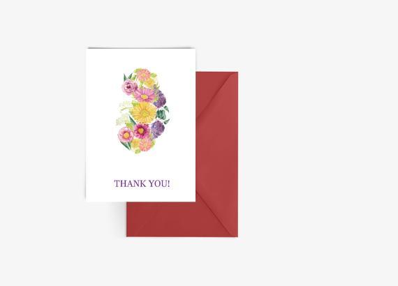 Nephrology Thank You Card - Kidney Thank You Card