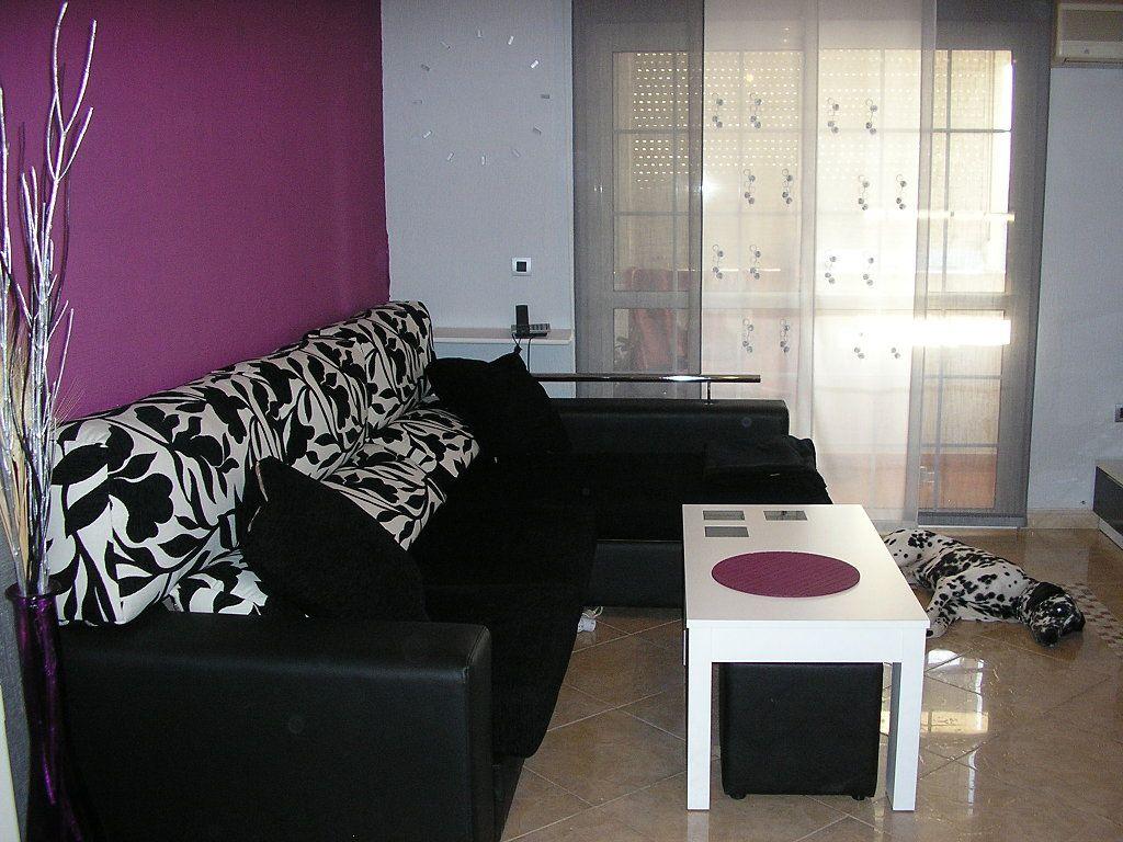 Sala De Estar Morado Pinterest Sala De Estar Negro Y  # Muebles La Guia Tui