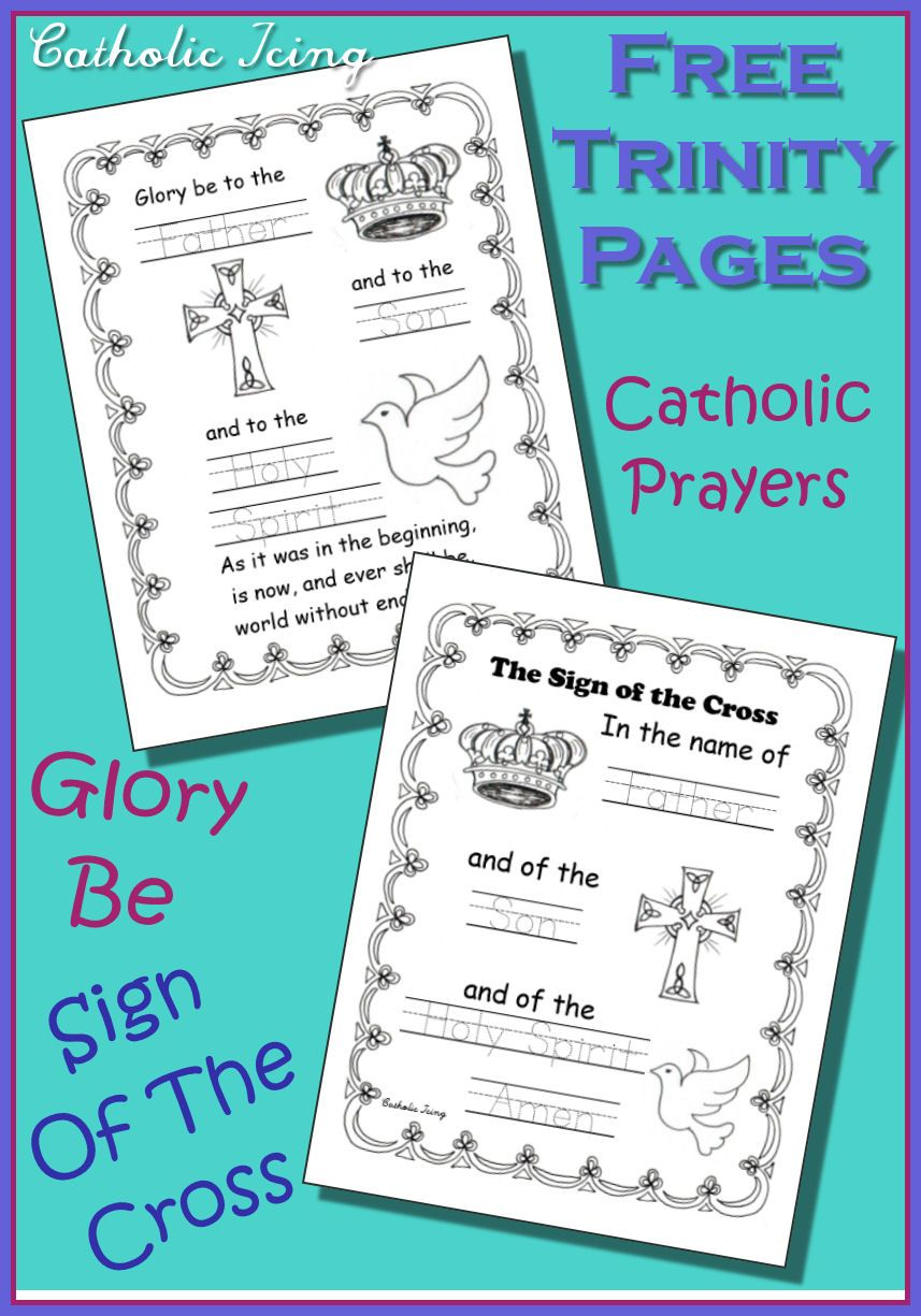 How To Pray The Rosary Coloring Page For Kids Thecatholickid Com