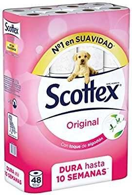 Scottex Dash Button Sobres De Papel Rollos De Papel Higienico Y