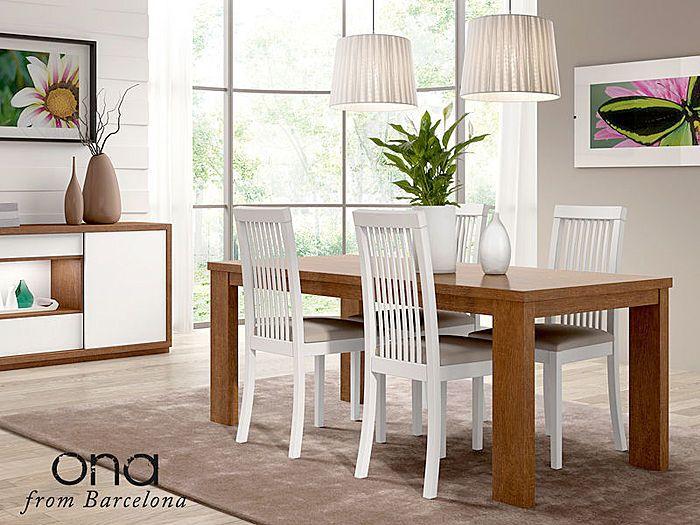 Mesa comedor moderna para ona salon comedor moderno baixmoduls for the home pinterest - Mesa salon moderna ...