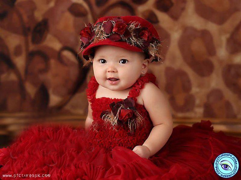 baby-girl-in-red-dress-800x600.jpg (800×600) - rosso e... - Pinterest