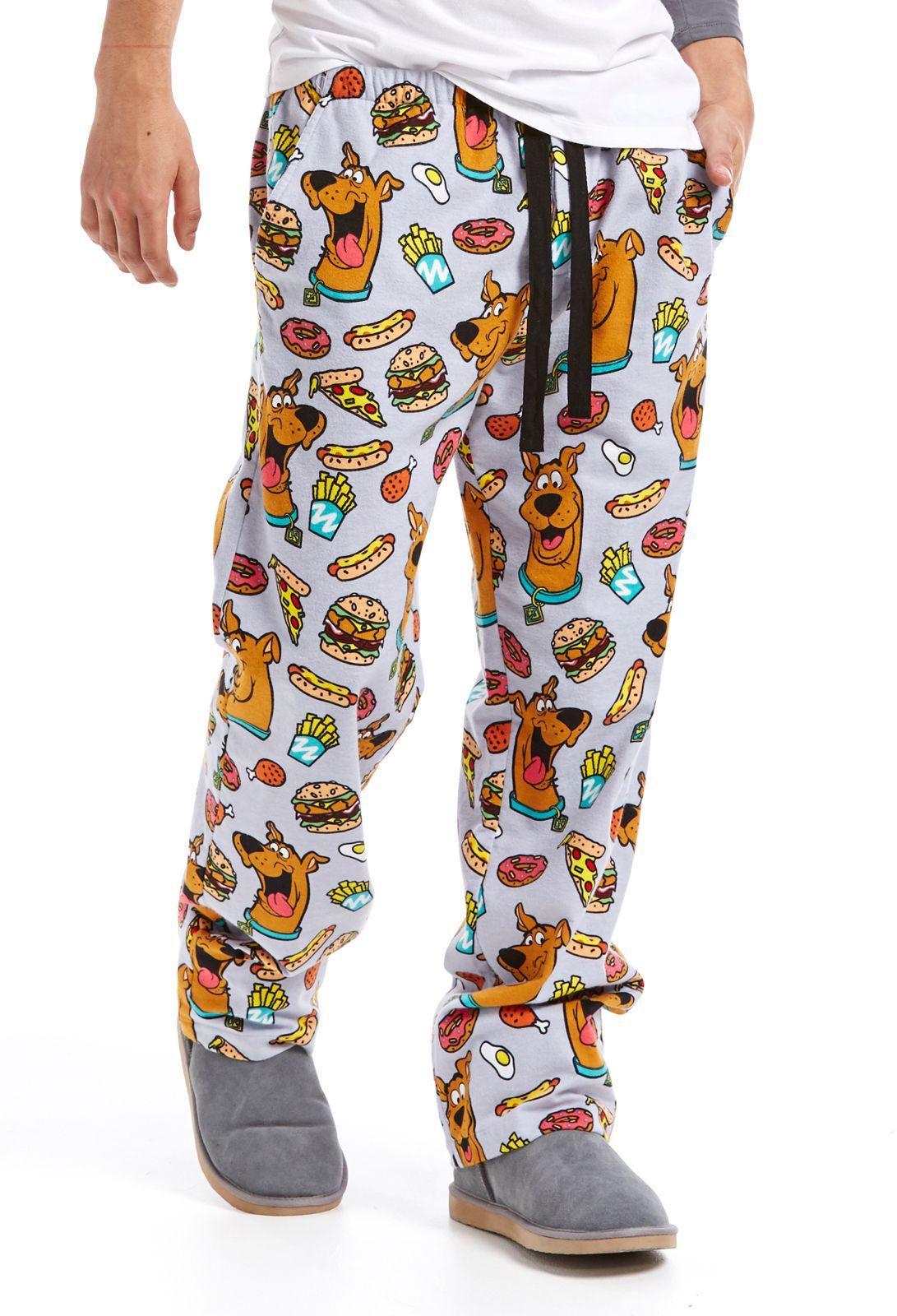 3c969850d7 Mens Scooby Doo Classic Flannelette Pj Pant