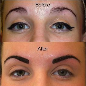 Permanent Eyebrows Makeup Tattoo Cost Aftercare Pros Cons Hair Stroke Eyebrow Tattoo Permanent Makeup Eyebrows Eyebrow Tattoo Cost