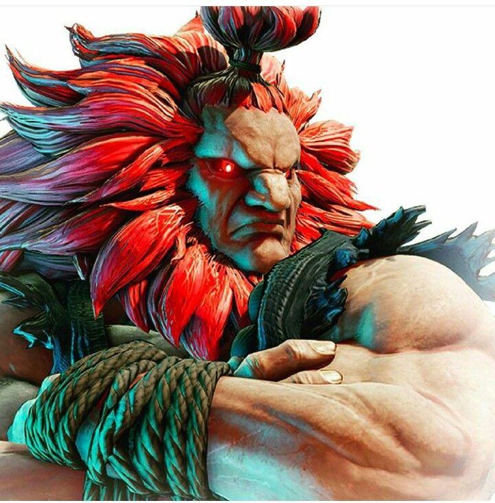 Akuma Street Fighter V Vilas Personagem Anime