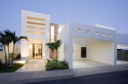35 fachadas de casas minimalistas casa minimalista for Fachadas de casas con porton