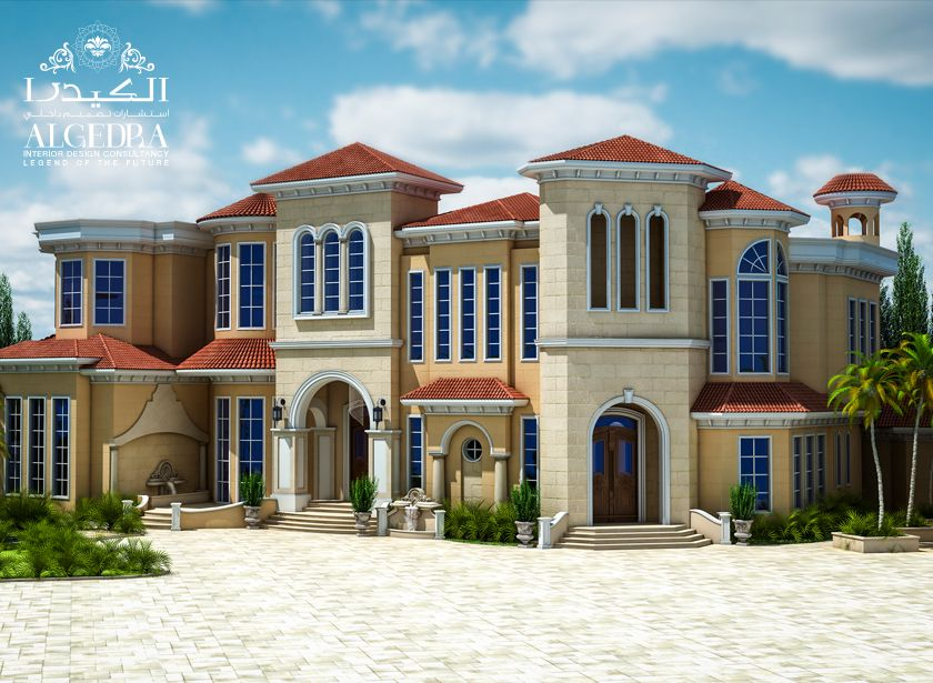 Exterior Design Gallery - Best Villa Exteriors by Algedra   HOUSES ...