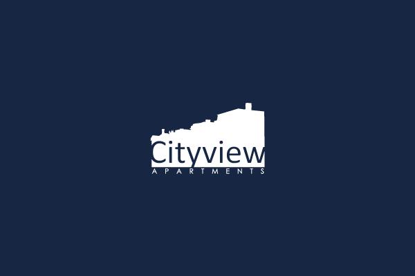 Cityview Apartments Logo By Brandon Williams Design Logo Brand Identity Picture Icon Logo Design Brandon Williams Logos