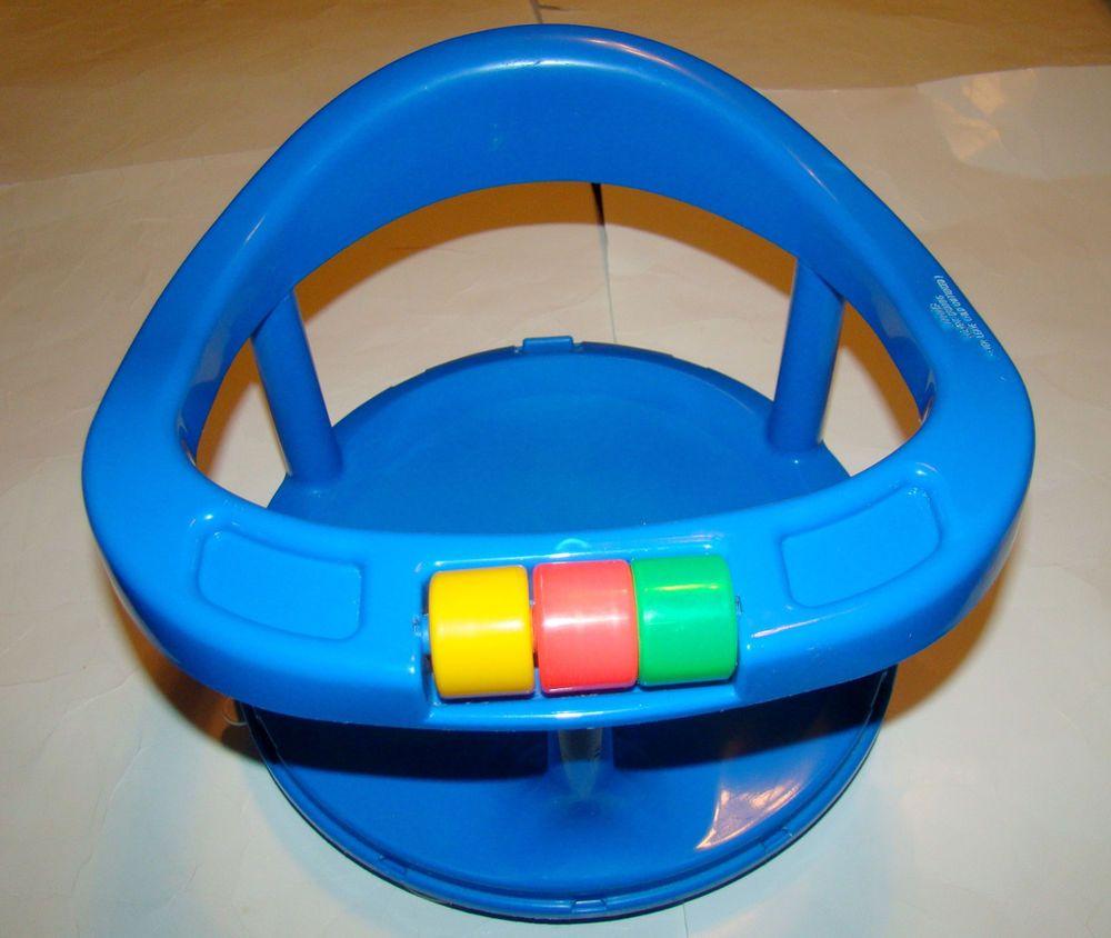 Safety 1st Blue Infant Baby Bath Tub Bathtub Swivel