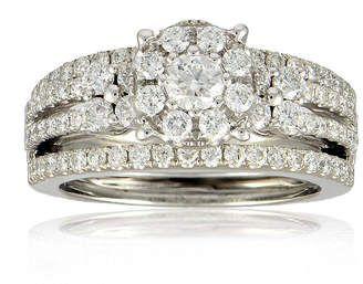 Fine Jewelry LIMITED QUANTITIES 1 CT. T.W. Diamond 14K Yellow Gold Bridal Ring Set 7U7TLd4D