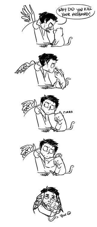Supernatural: Cas & Cat ^^