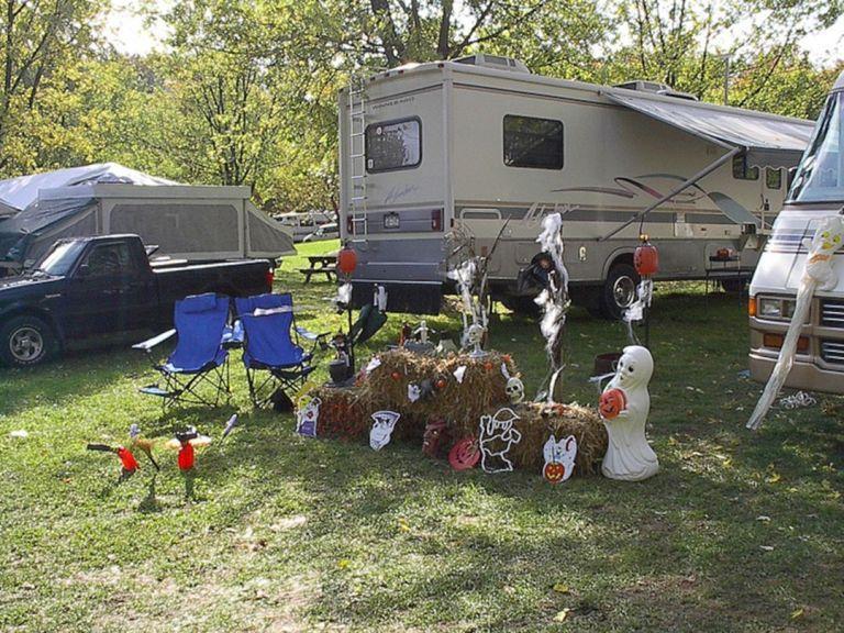 RV Camping Design Ideas 1   Vacation, Halloween camping, Rv