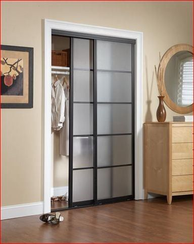 glass closet doors contemporary interior doors frosted glass door