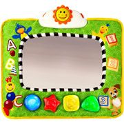 Baby Einstein - Music & Discovery Travel Mirror with light.