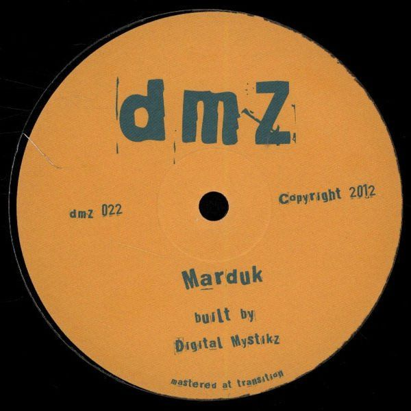 Digital Mystikz Marduk Enter Dimensions Dmz Dmz022 Vinyl Records Vinyl Records For Sale Digital