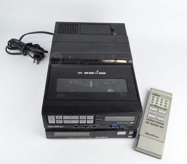 Quasar Model VA546XQ VHS True Track 4 System
