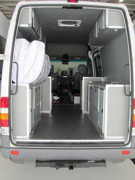 Wonder Bread: Our Cargo Van to Camper Van project (the ...