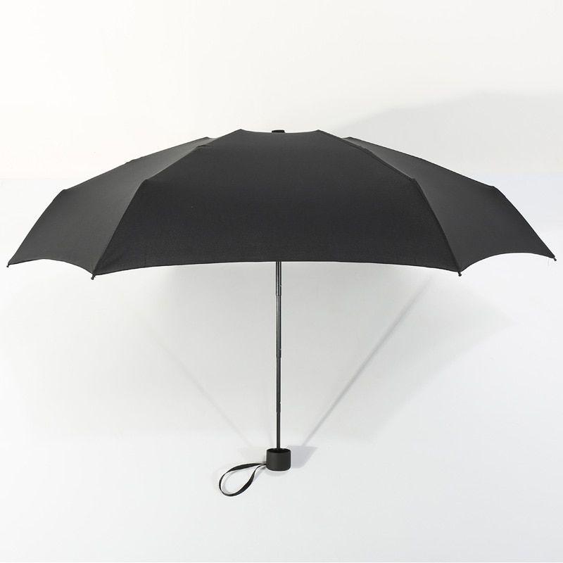 Fashion Mini Folding Compact Umbrella Light Travel Parasol for Sunny Rainy Days