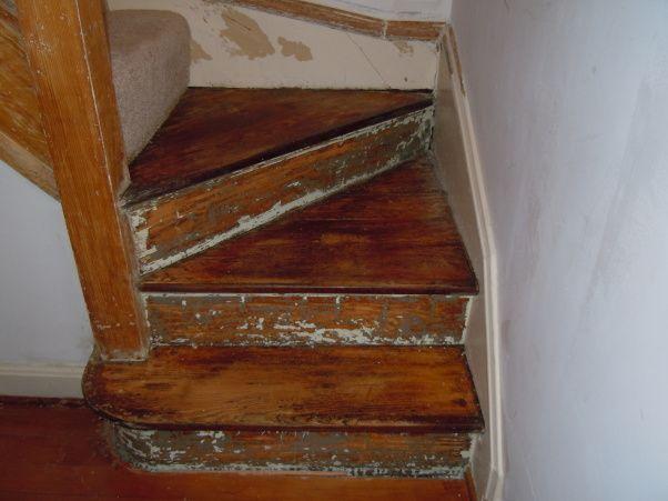 attic redo ideas - Old servants stairs Attic redo Pinterest