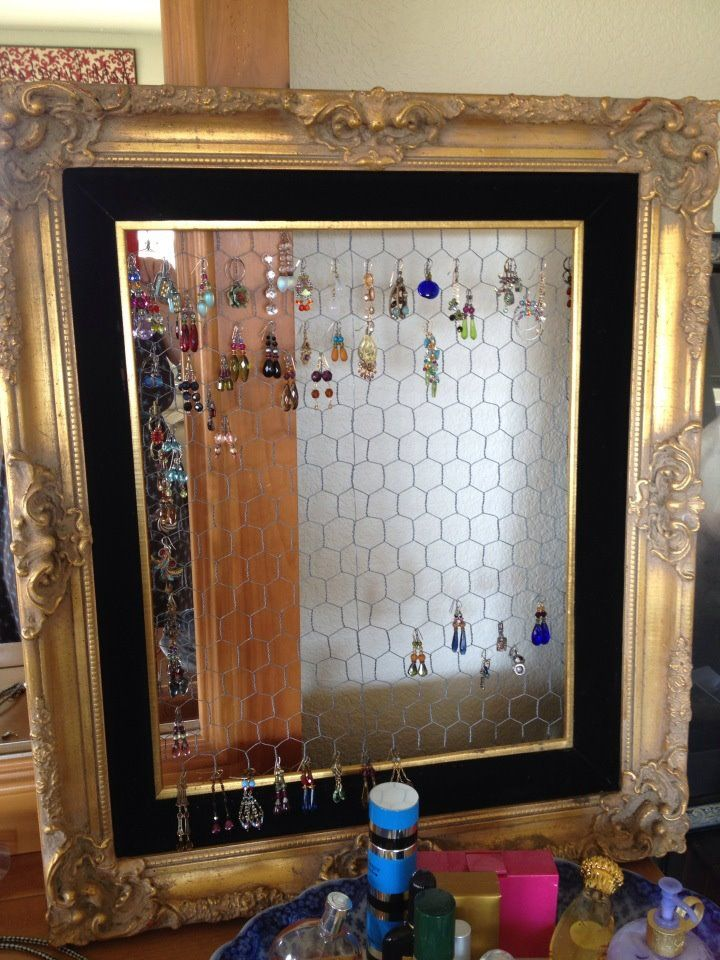Awesome Idea! Here at the store we get some cool old frames so I ...
