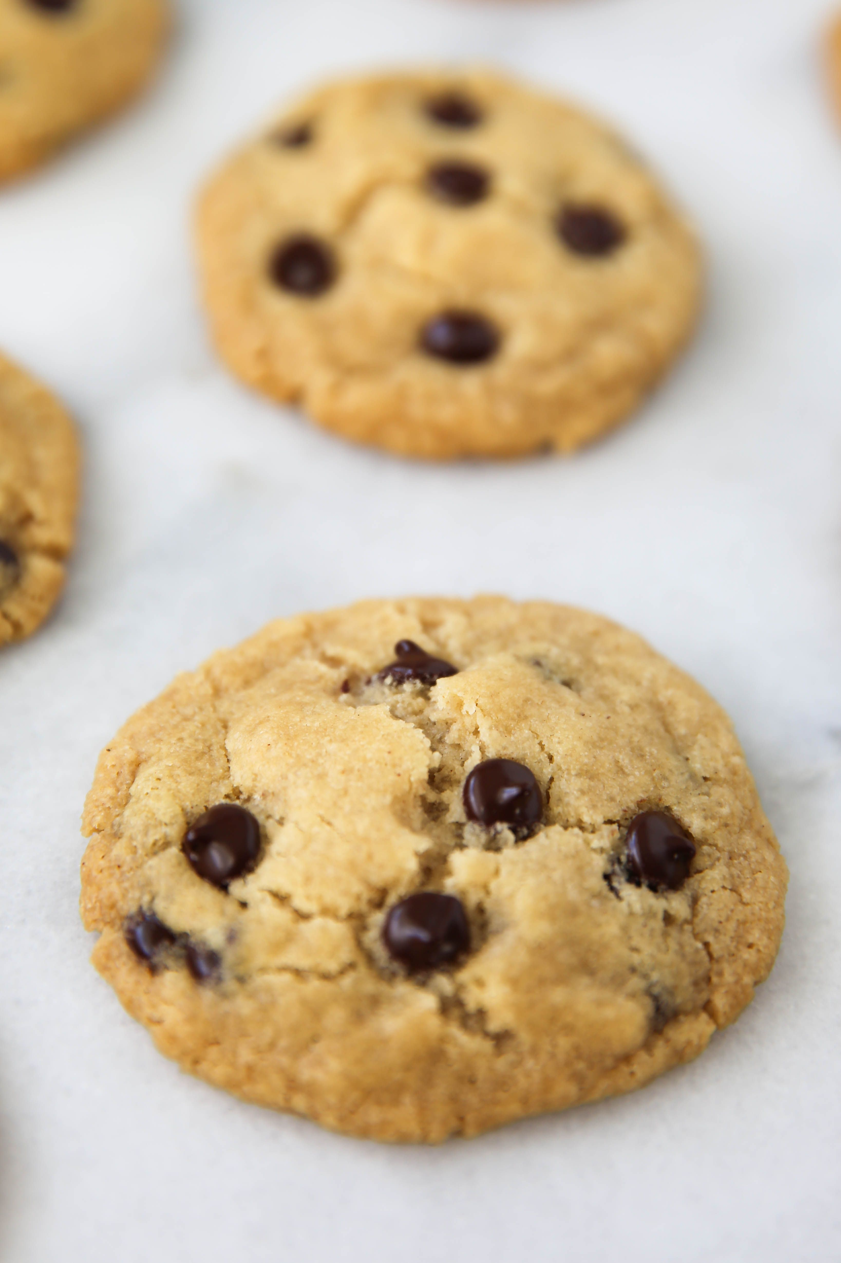 Egg and nut free chocolate chip cookies recipe with