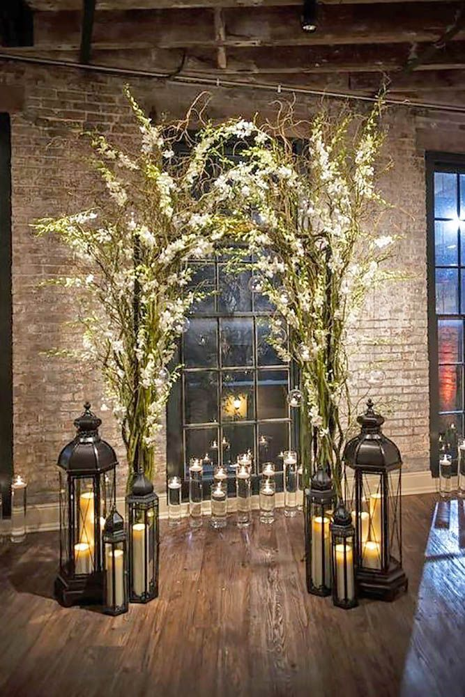 42 Romantic Rustic Wedding Lanterns | Wedding Forward