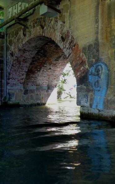 Unter der Brücke, Leipzig