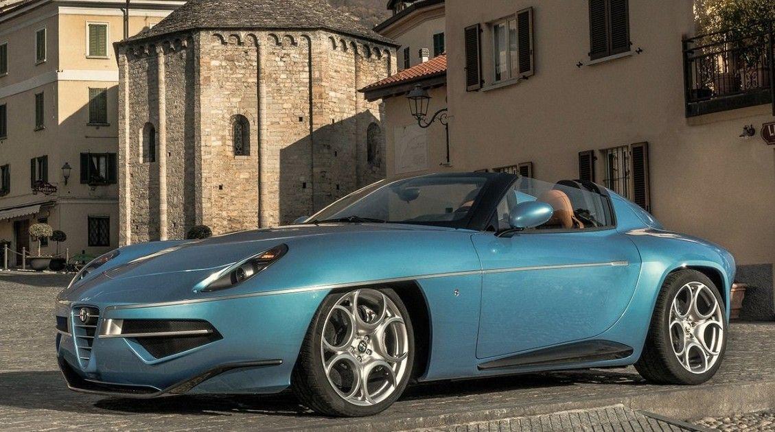 Touring-Superleggera-Alfa-Romeo-Disco-Volante-Spyder C8 #alfaromeo