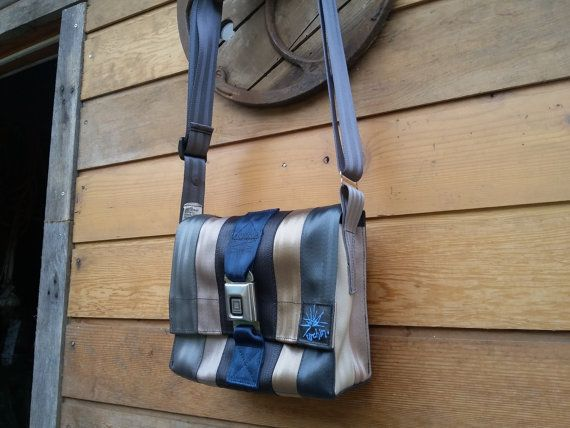 cb6c98cb35 Seat belt bag purse messenger bag recycled seatbelt by urchinbags ...