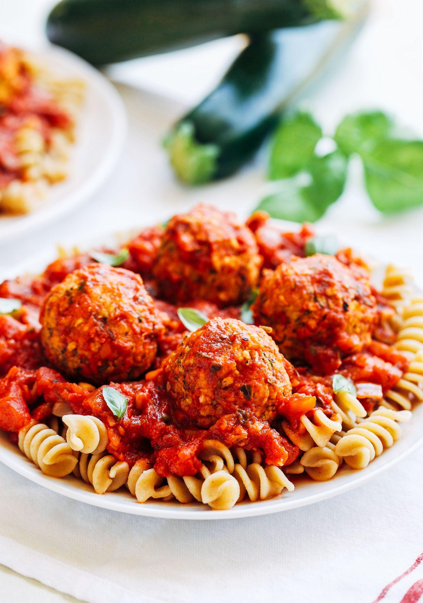 Vegan Zucchini Meatballs