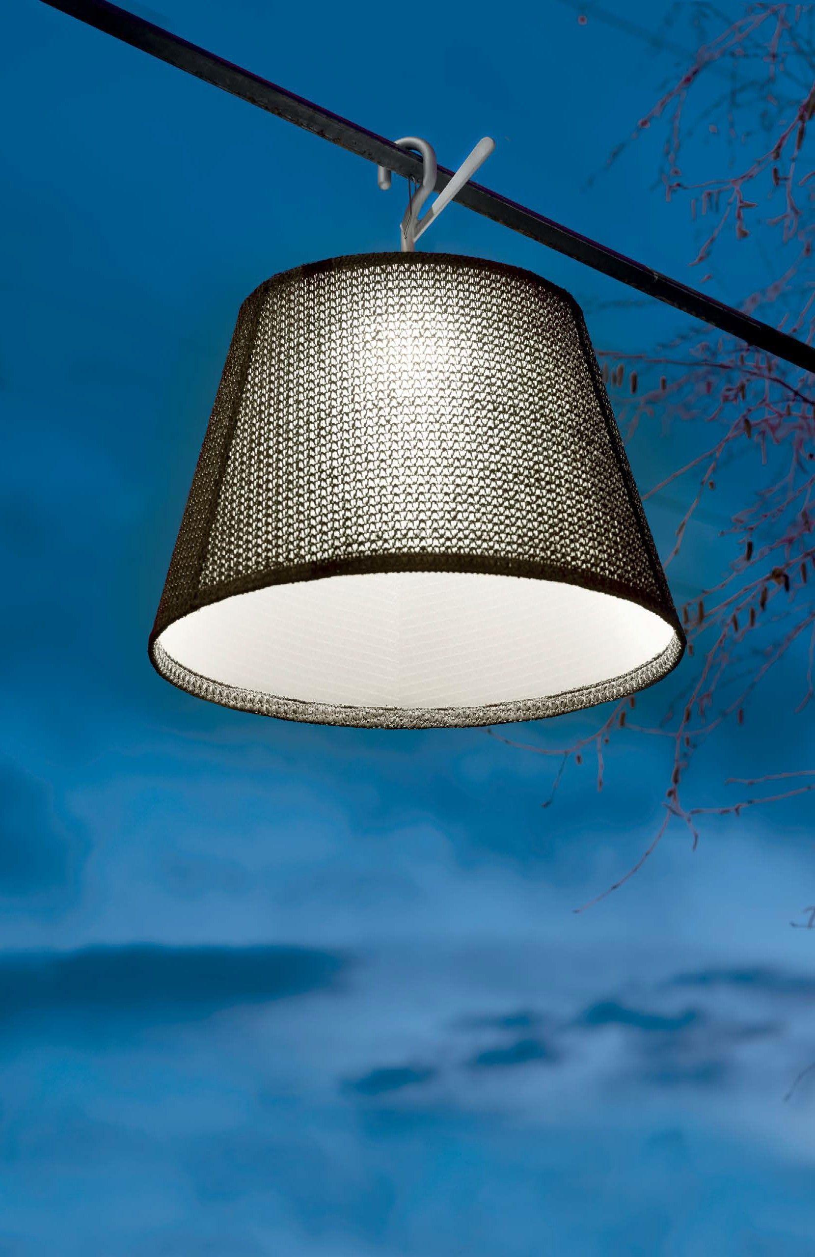 Artemide Tolomeo Mega Outdoor Hook Lamp Lamp Artemide Artemide Tolomeo