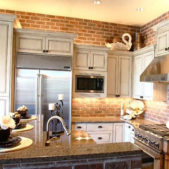 White Kitchen Exposed Brick 25 exposed brick wall designs defining one of latest trends in