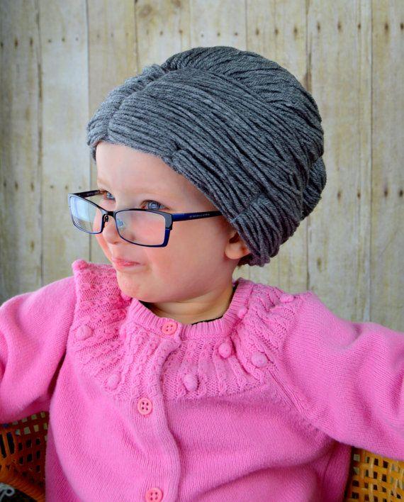 Hilado de peluca de abuela peluca sombrero la anciana por YumbabY ... db90b24e32e