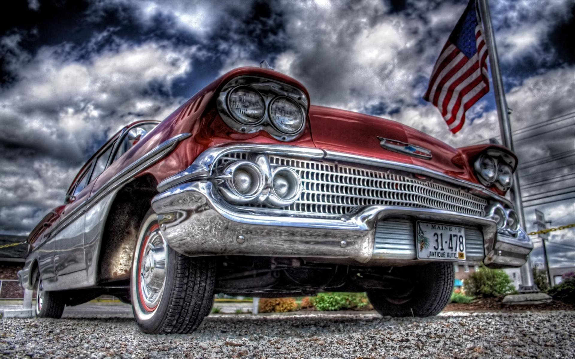 Vintage cars American classic | Old school | Pinterest | Autá ...
