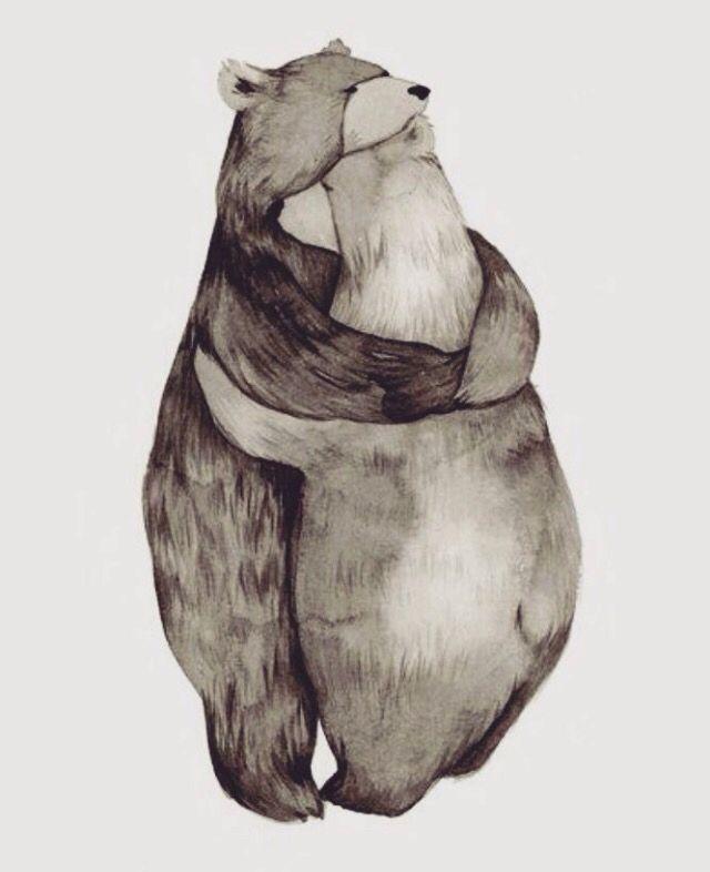 Best Hugs With Images Bear Art Bear Illustration