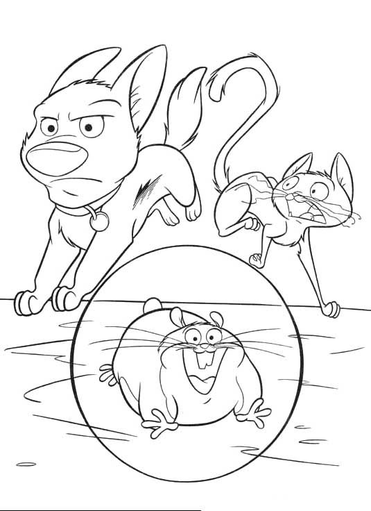 Bolt With His Pursuit Of The Villains Coloring For Kids Bolt Coloring Pages Kidsdrawing Free Col Coloring Pages Coloring For Kids Coloring Pages For Kids