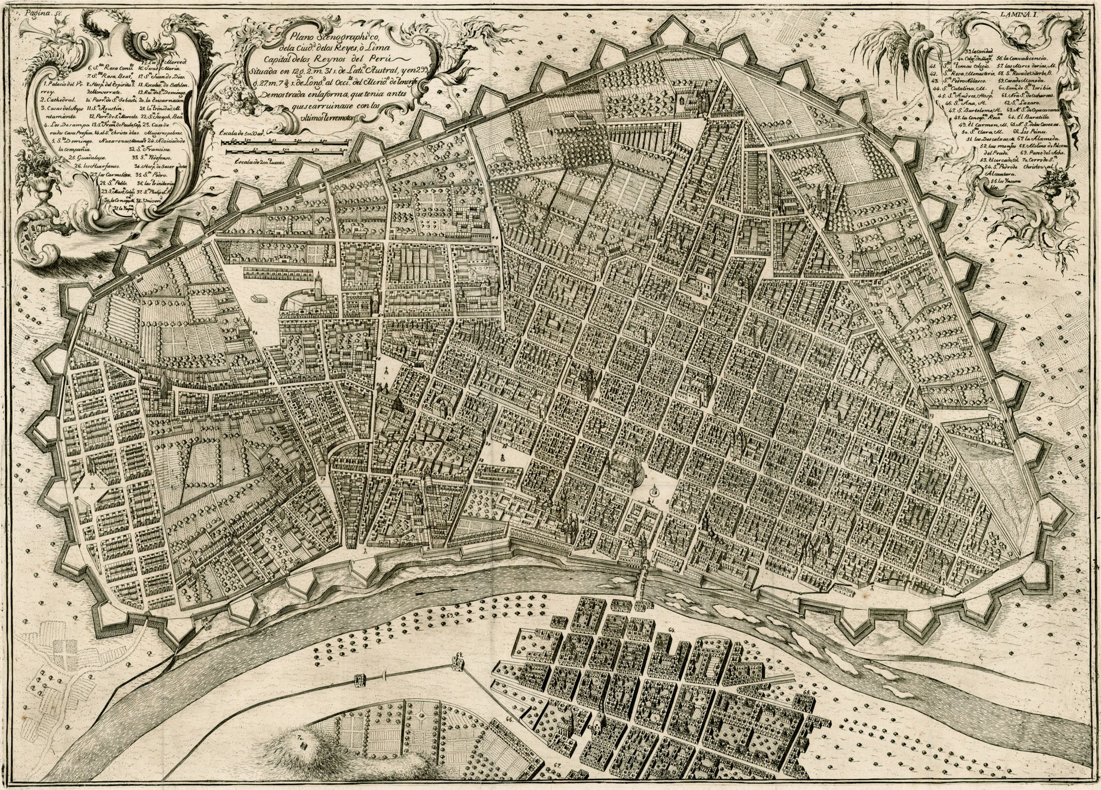 Lima In 1685 Capital Of The Viceroyalty Of Peru Which At The Time Constituted All Of Spanish Controlled South America