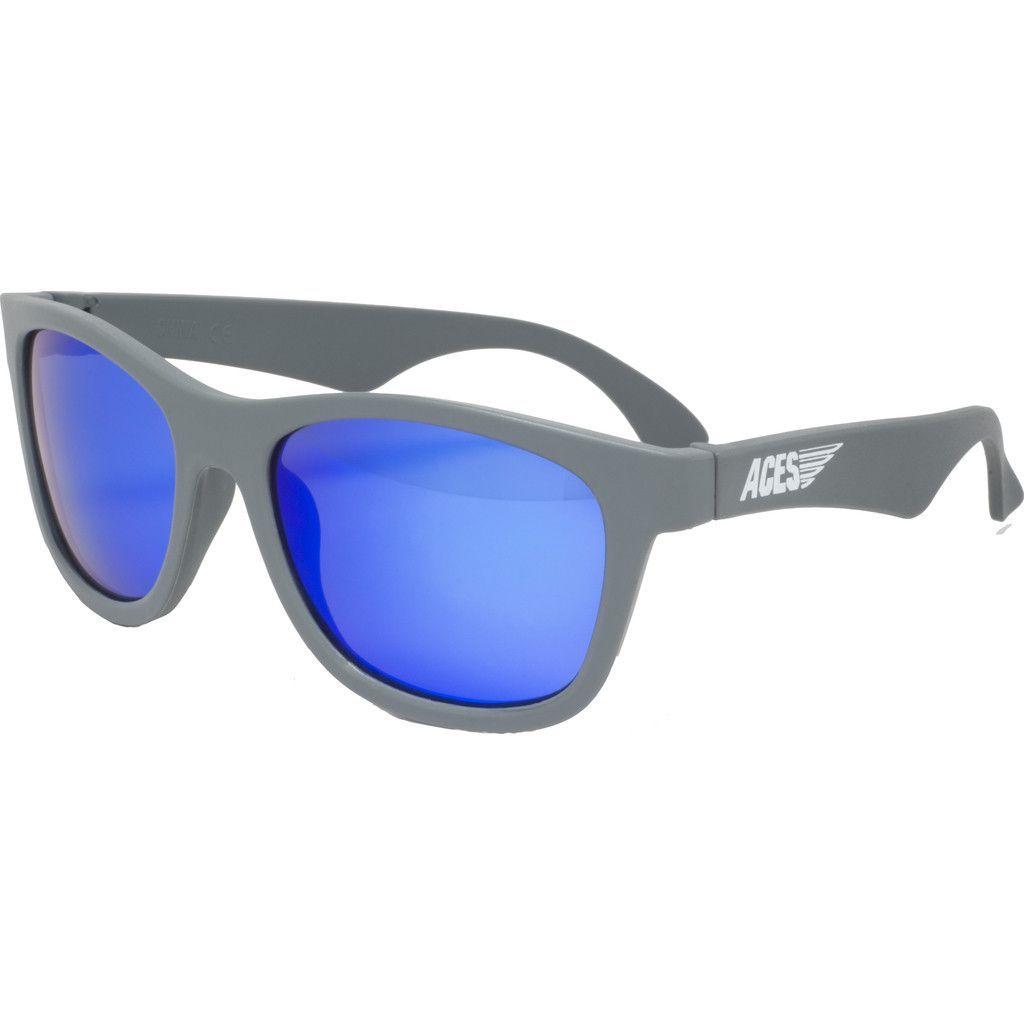 10947ebe59 Babiators Aces Navigators Galactic Gray Kids Sunglasses