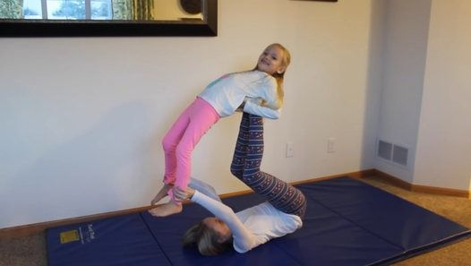Family Yoga Challenge - @Lotus Blossom7 | Hot Videos