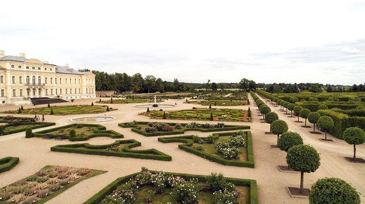 Rundale Palace - Park