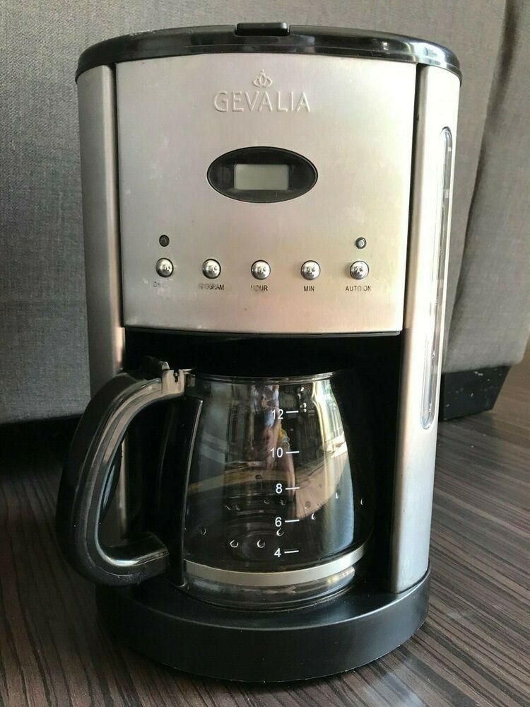 Gevalia 12 Cup Kaffe Coffee Maker