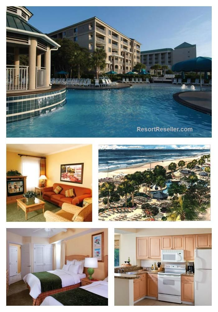 Marriott S Barony Beach Club Is Located In Port Royal Plantation Just A Few Minutes Drive