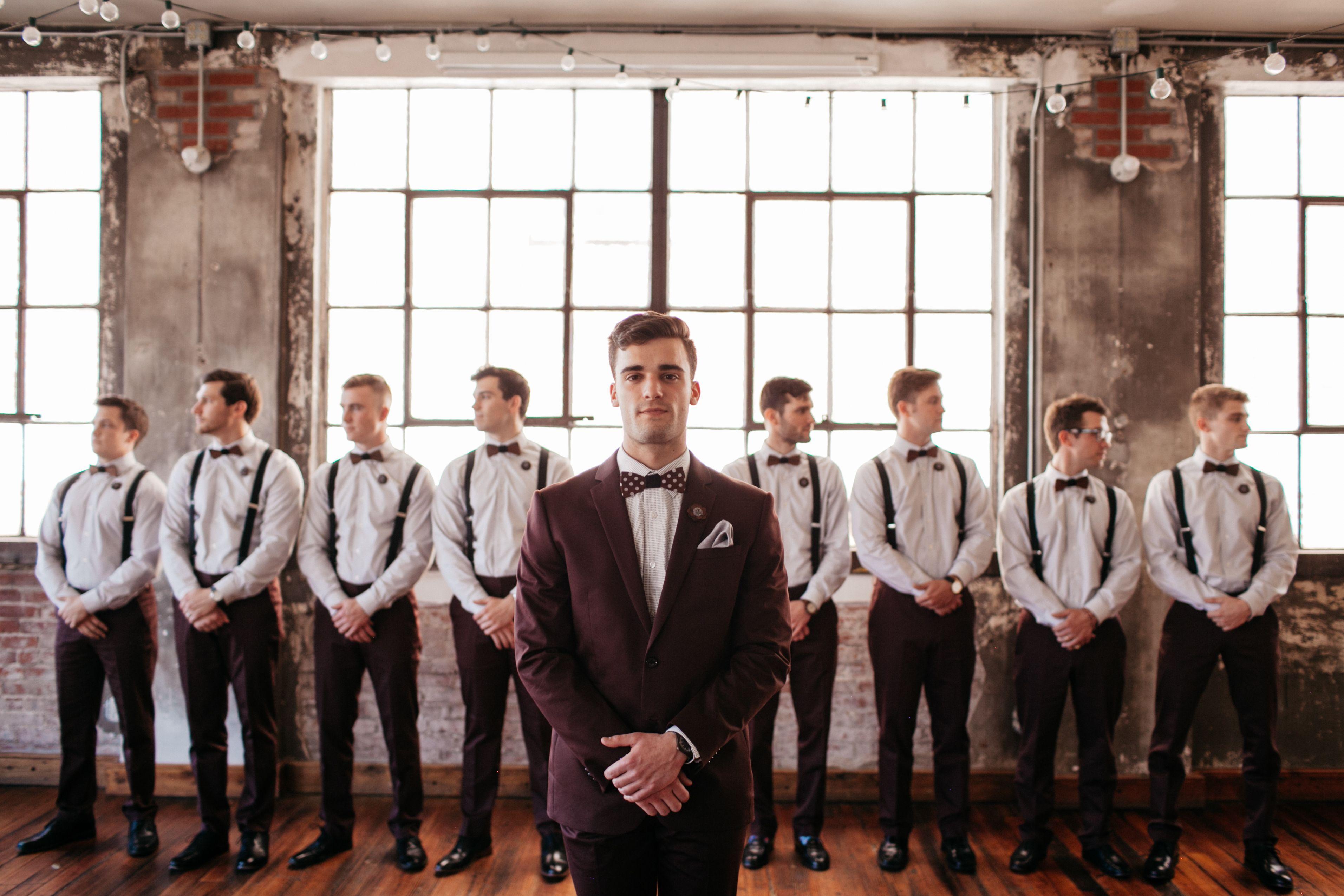 21++ Fall wedding groomsmen attire inspirations