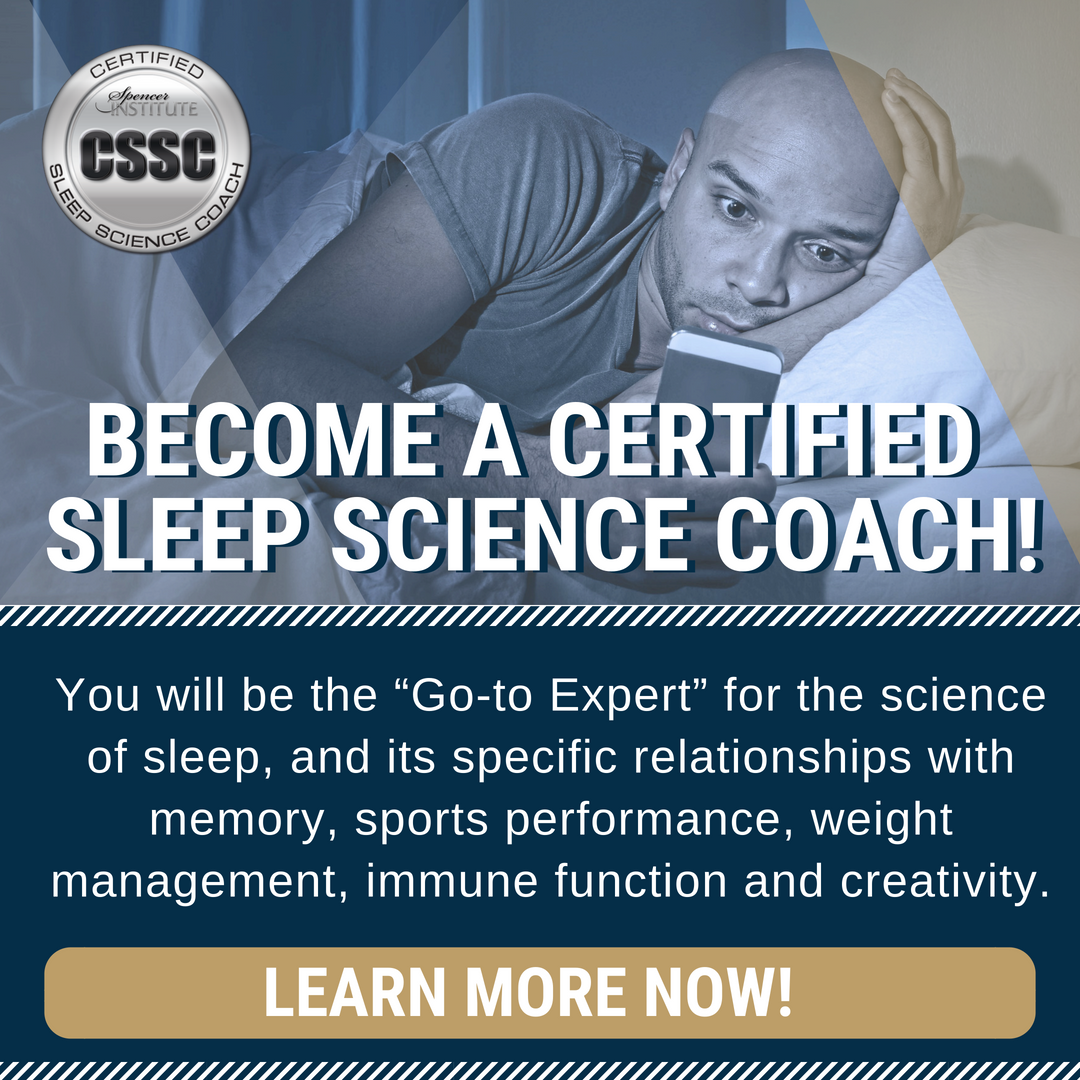 Sleep Science Coach Certification Coach Training Courses