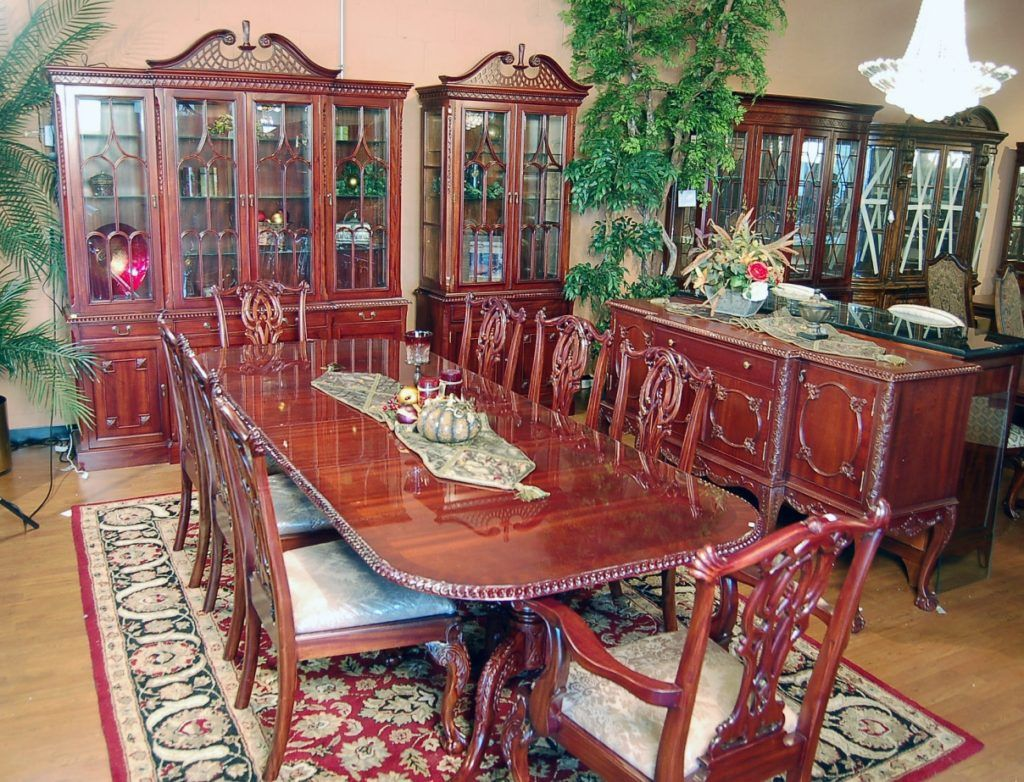 Chippendale Dining Room Amusing Mahogany Chippendale Dining Room Set  Httpfmufpi Inspiration Design