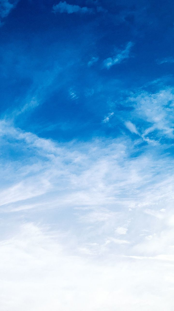 Clouds And Blue Sky  Sunny Day  720x1280 Wallpaper